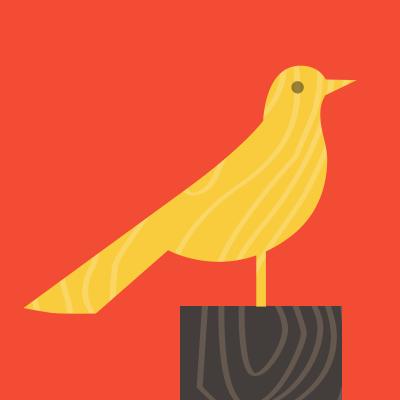 Bird01 yellow