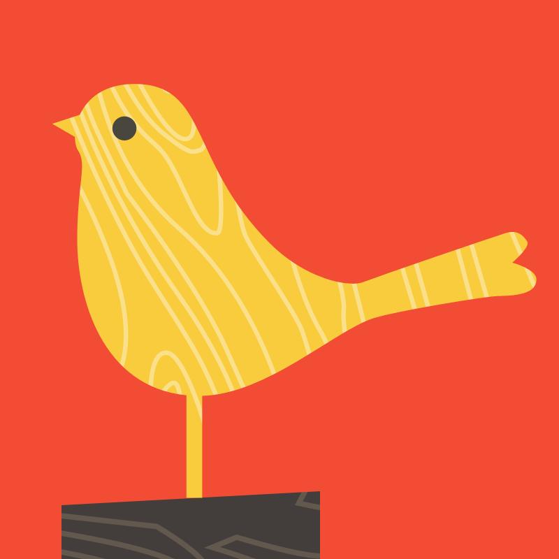 Bird02 yellow